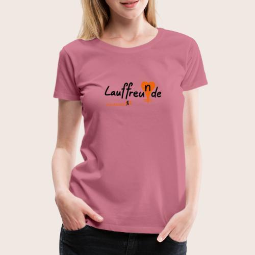 Lauffreu(n)de - Frauen Premium T-Shirt