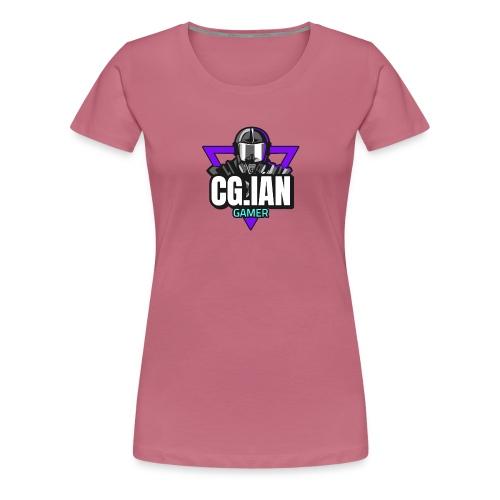 nice and Cool Guy Ian Gamer - Dame premium T-shirt