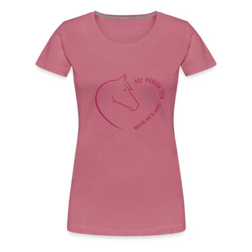 Coeur Closeness - Frauen Premium T-Shirt