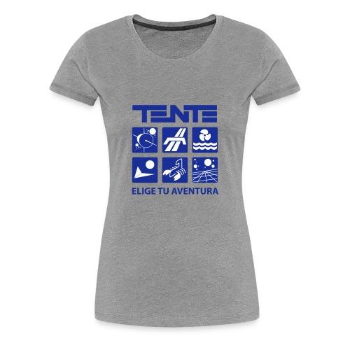 Series de TENTE: Elige tu aventura - Camiseta premium mujer