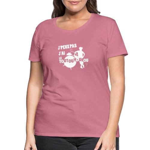 JPEUXPAS BLANC - T-shirt Premium Femme