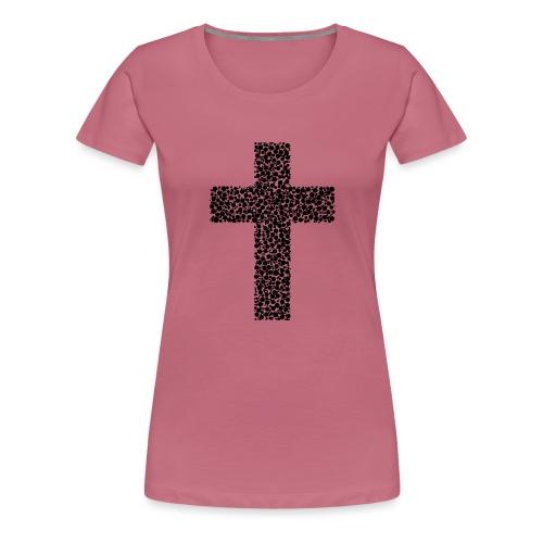 Cross/ Kreuz - Frauen Premium T-Shirt