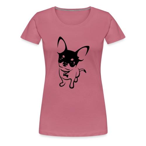 Chihuahua Mok - Vrouwen Premium T-shirt