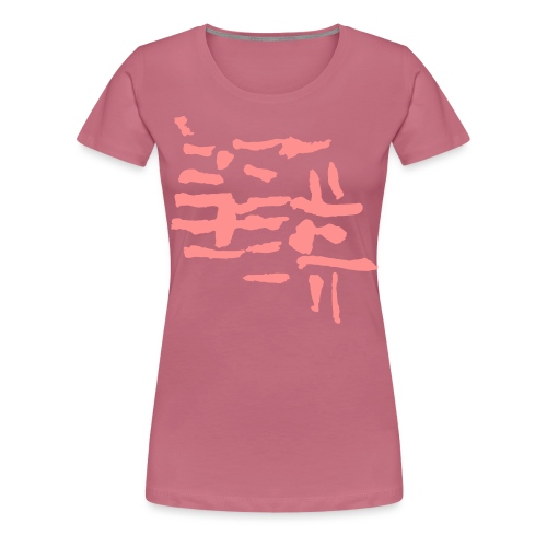 Structure / pattern - VINTAGE abstract - Women's Premium T-Shirt