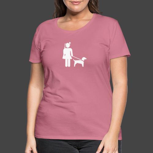 """Hundeführerin""-Jägerinnen Shirt - Frauen Premium T-Shirt"