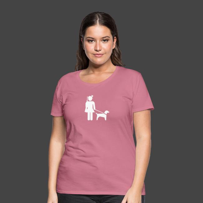 """""""Hundeführerin""""-Jägerinnen Shirt"""