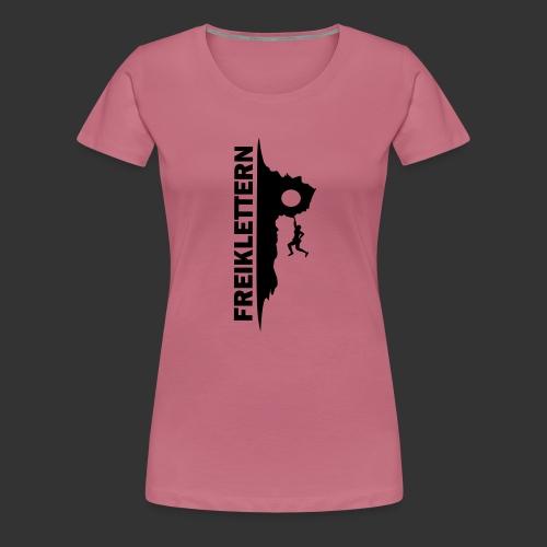 Freiklettern - Frauen Premium T-Shirt