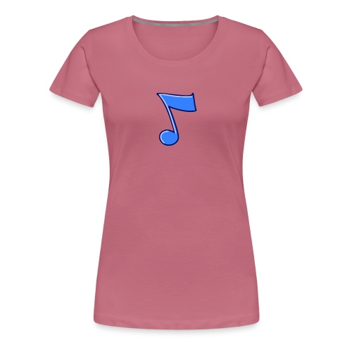 mbtwms_Musical_note - Vrouwen Premium T-shirt