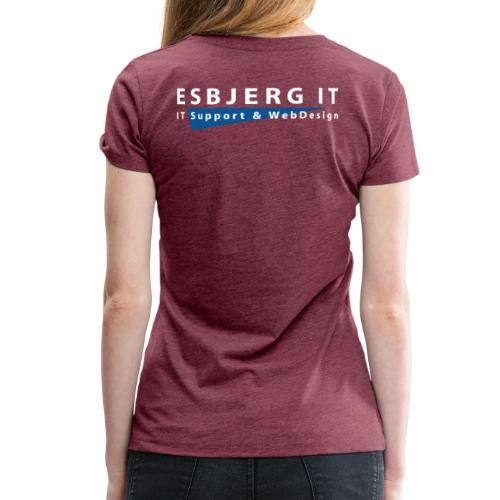 Esbjerg IT - Dame premium T-shirt
