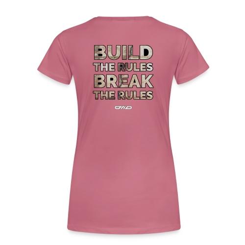 Rules Shirt - Frauen Premium T-Shirt