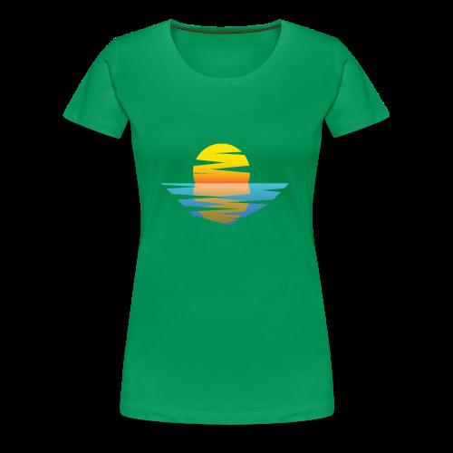 Sunset - Frauen Premium T-Shirt