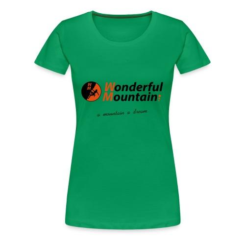 WM SLOGAN - Camiseta premium mujer