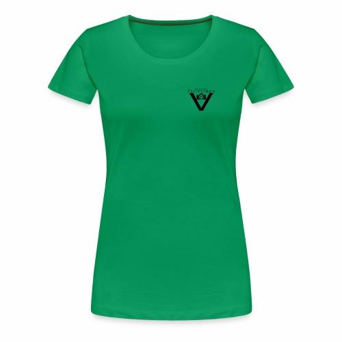Vlado'S Pictures LOGO SCHWARZ - Frauen Premium T-Shirt