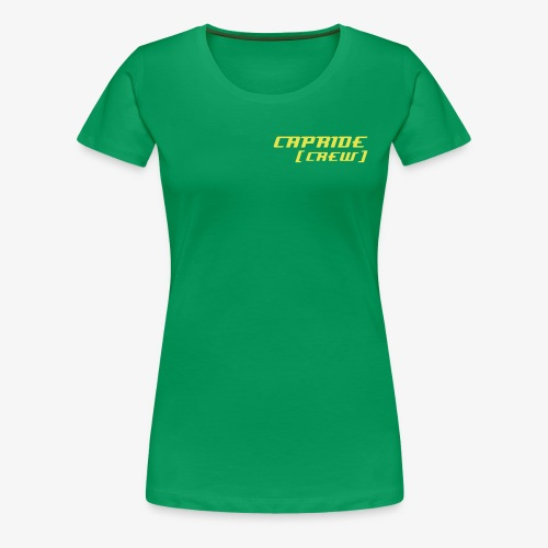 CaprideCrewSchrift - Frauen Premium T-Shirt