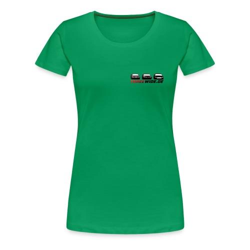 Threewide - Frauen Premium T-Shirt