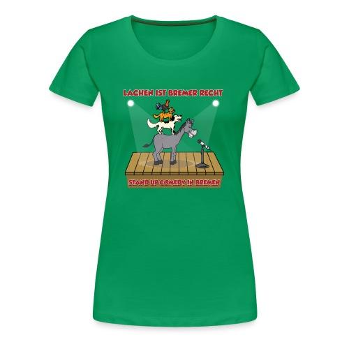Lachen ist Bremer Recht Merchandise - Frauen Premium T-Shirt