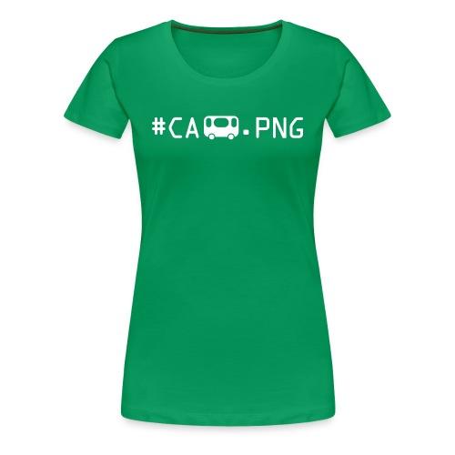 Camping1 - Frauen Premium T-Shirt