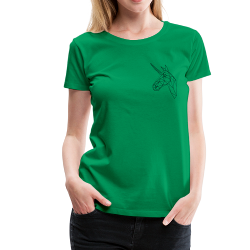unicorn returns - Frauen Premium T-Shirt