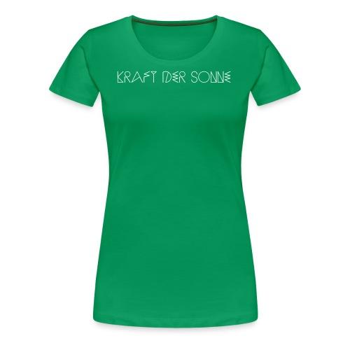 4174847 139708459 KDS Shirt Logo 2 - Frauen Premium T-Shirt
