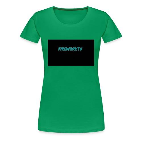 Firework tv - Frauen Premium T-Shirt