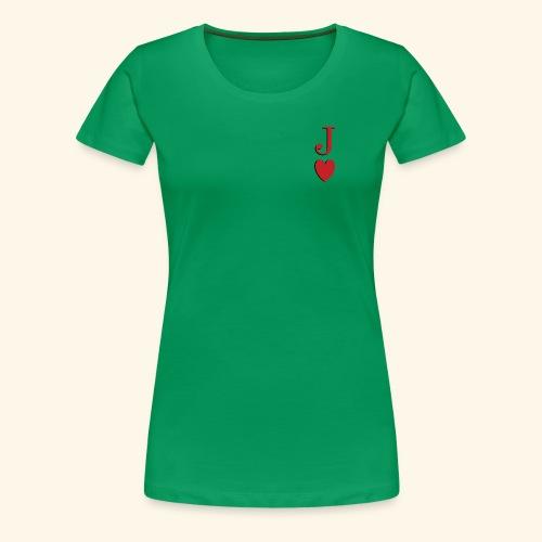 Valet de trèfle - Jack of Heart - Reveal - T-shirt Premium Femme