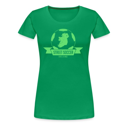Street Soccer Ireland - Women's Premium T-Shirt