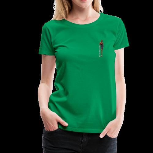 Femme blonde - T-shirt Premium Femme