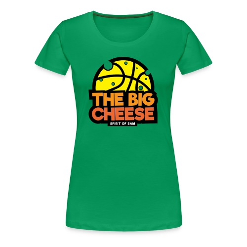 The Big Cheese Logo - Women's Premium T-Shirt