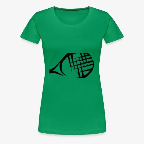 Tennisschläger - Frauen Premium T-Shirt