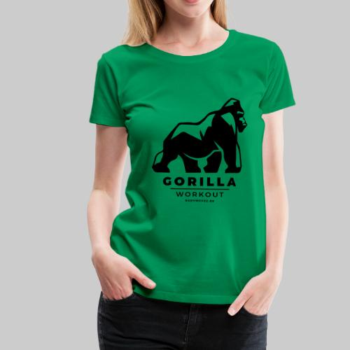 Gorilla Workout by Bodymovez - Frauen Premium T-Shirt