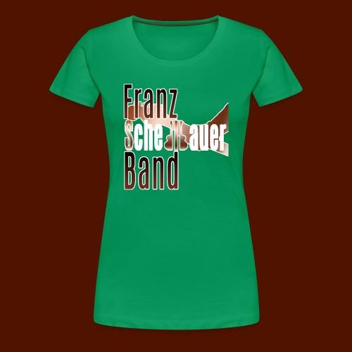 FSB logo brown - Women's Premium T-Shirt