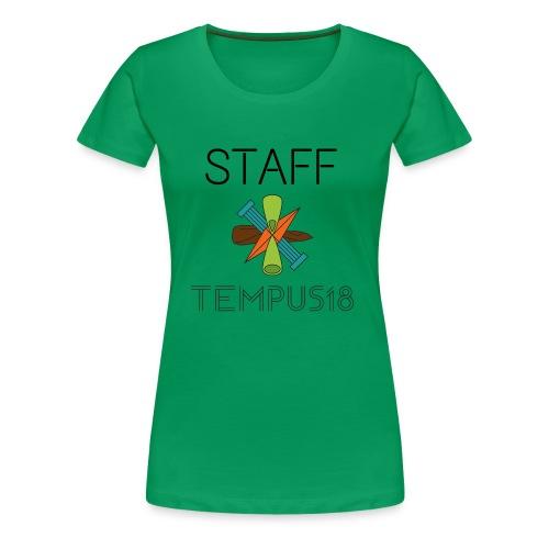 Staff värillinen - Naisten premium t-paita