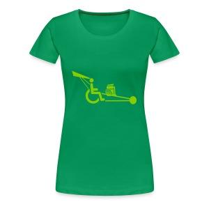 WheelchairV8 - Vrouwen Premium T-shirt