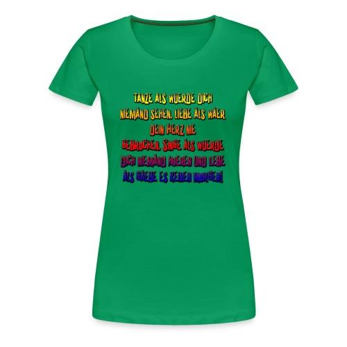 PaulasWahnsinn6 - Frauen Premium T-Shirt