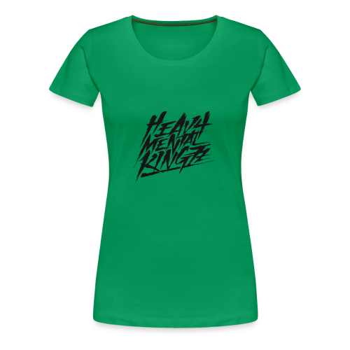 Heavy Mental KingZz Logo - Frauen Premium T-Shirt