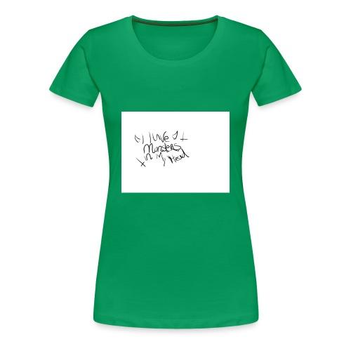 monsters in my head - Vrouwen Premium T-shirt