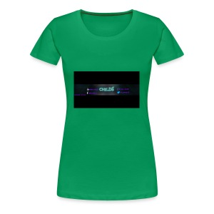 LOGO_Banner_Childs - Women's Premium T-Shirt