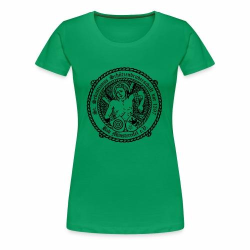 Schuetzenlogo 2018 schwarz - Frauen Premium T-Shirt