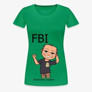Female Body Inspector - Frauen Premium T-Shirt