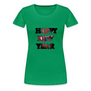 Silvester - Frauen Premium T-Shirt