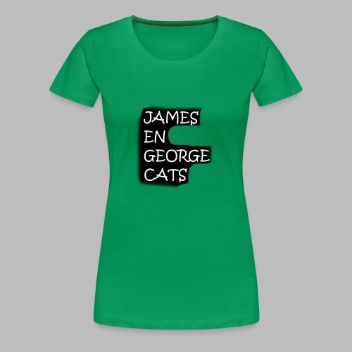 James en George (Limited Edition!) - Vrouwen Premium T-shirt