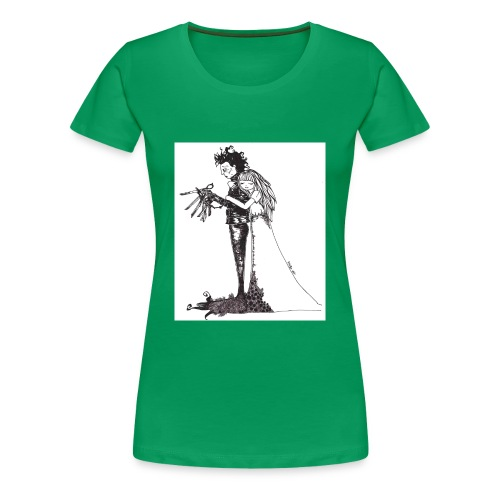 EdwardScissorhands.jpg - Women's Premium T-Shirt