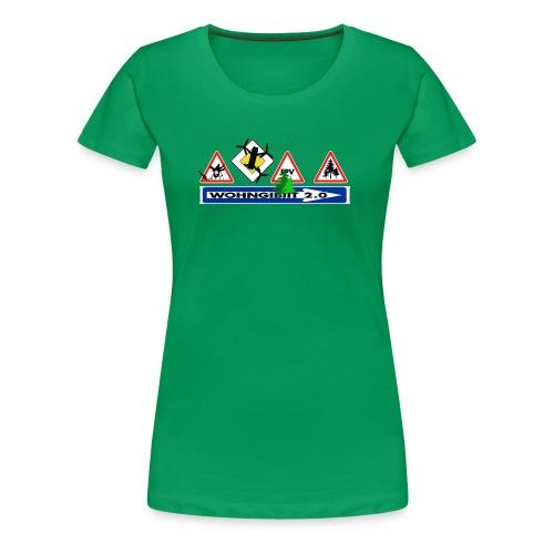 wohngibiit Hotzenplotz1 - Frauen Premium T-Shirt