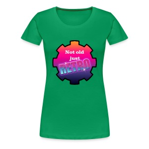 not old just retro - Women's Premium T-Shirt