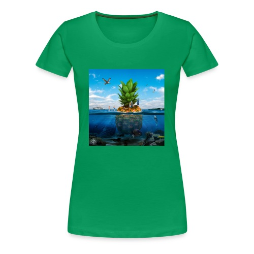 Pineapple Island - T-shirt Premium Femme