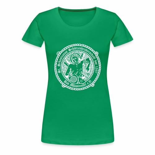 Schuetzenlogo 2018 weiss - Frauen Premium T-Shirt