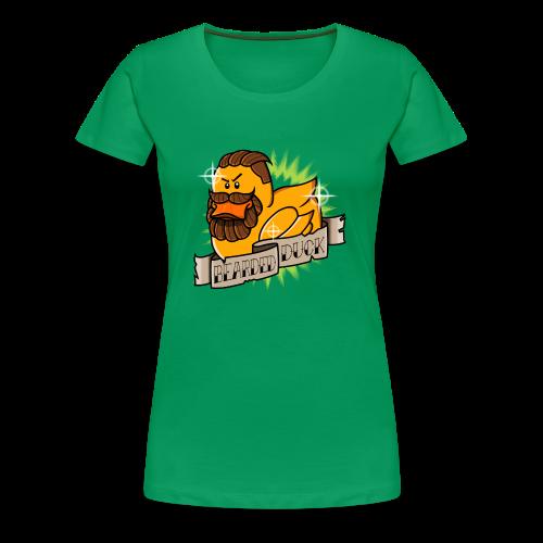 Bearded Duck - T-shirt Premium Femme