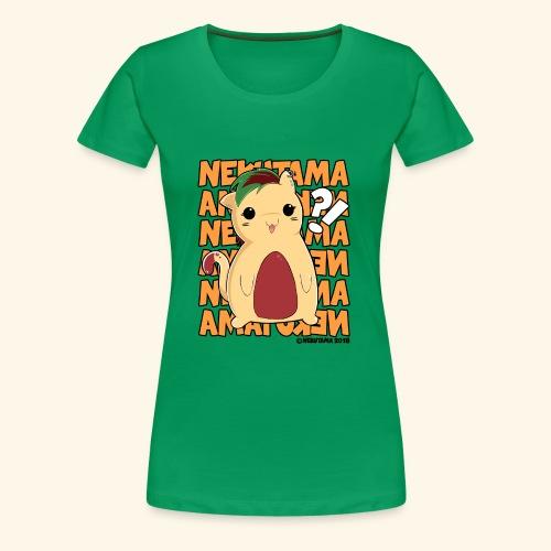Nekutama Katze - Frauen Premium T-Shirt