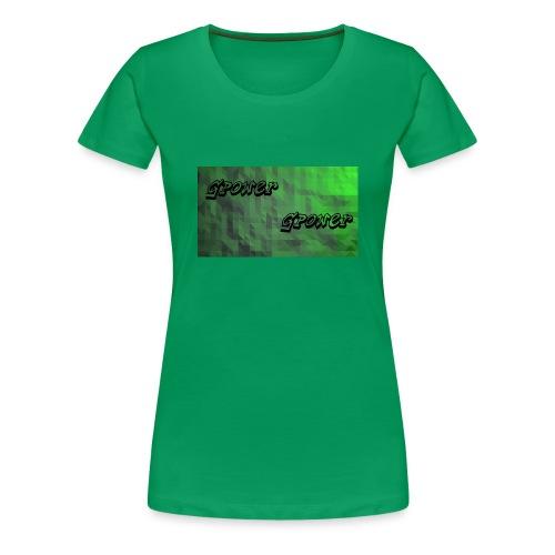 t-shirt met gpower - Vrouwen Premium T-shirt