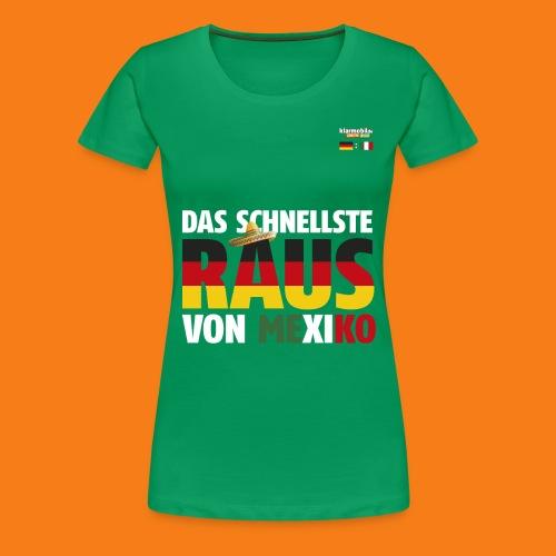 Mexiko Shirt - Frauen Premium T-Shirt